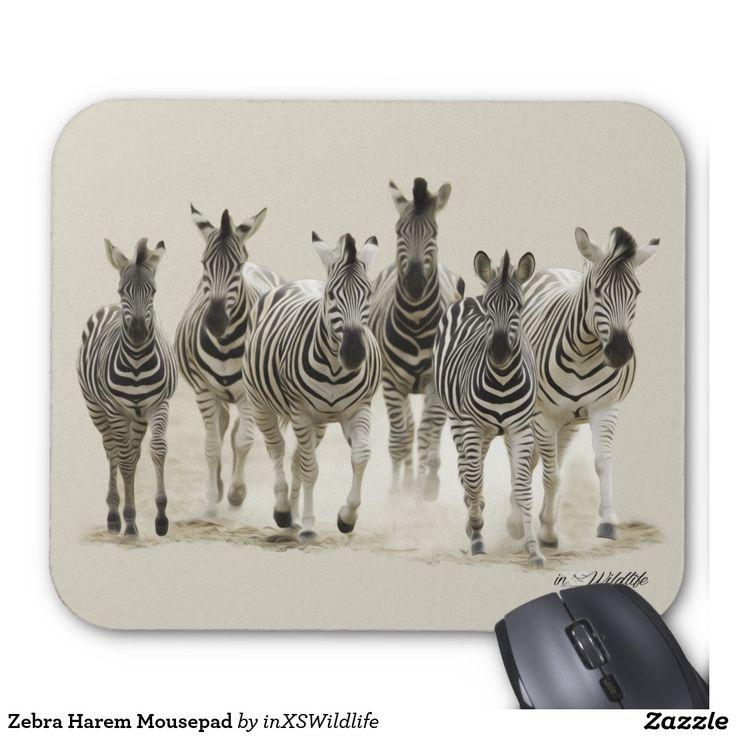 Zebra Harem Mousepad