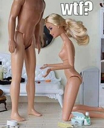 Disappointed Barbie