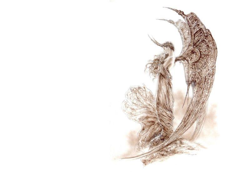 Luis royo 20 pinterest el angel negro ii luis royo wallpapers voltagebd Gallery