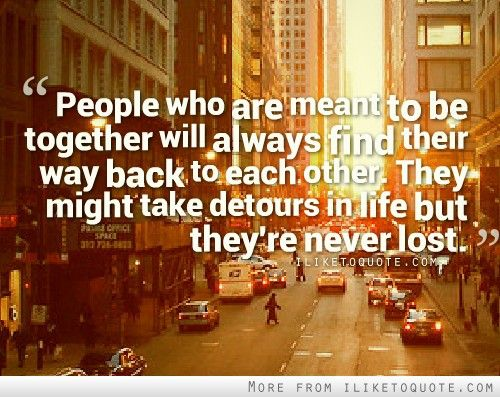 1000+ Back Together Quotes On Pinterest
