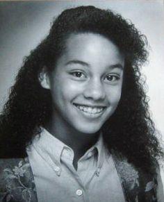 Young Alicia Keys