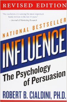"""To explain why people say """"yes"""", Cialdini explores the six universal principles of persuasion, showing you how to employ them in everyday life. Influence is fit for anyone to read and utilize to create positive change and empowerment in their own life."""