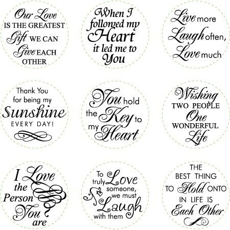 Free Sayings Sentiments For Cards