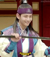 "sosjimin: """" Kim Taehyung as Hansung in Hwarang: a Summary ♡ "" """