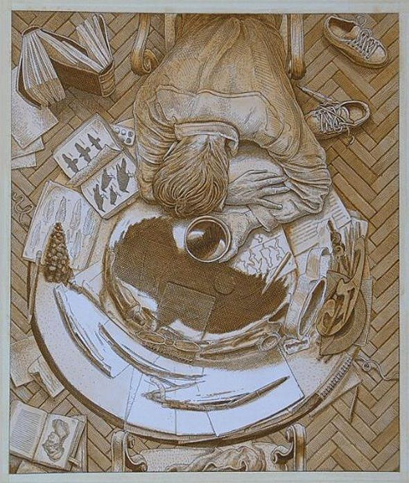Anamorphic Drawings - The Awesomer