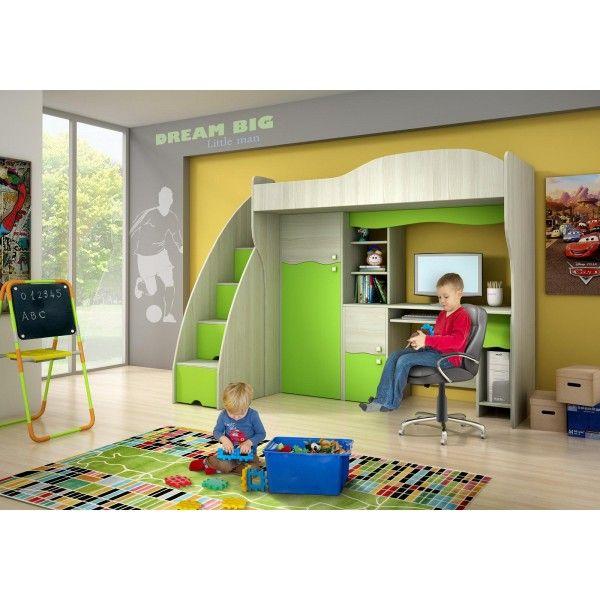 e-FunkyBaby Italia - letto a soppalco 499,00 - Grande scelta di Funky prodotti per bambini. Di buona qualita a prezzi ragionevoli. Seggioloni Carrozzine Passeggini Lettini Moda