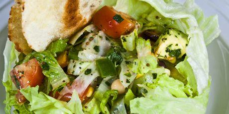 Easy southwest chopped salad
