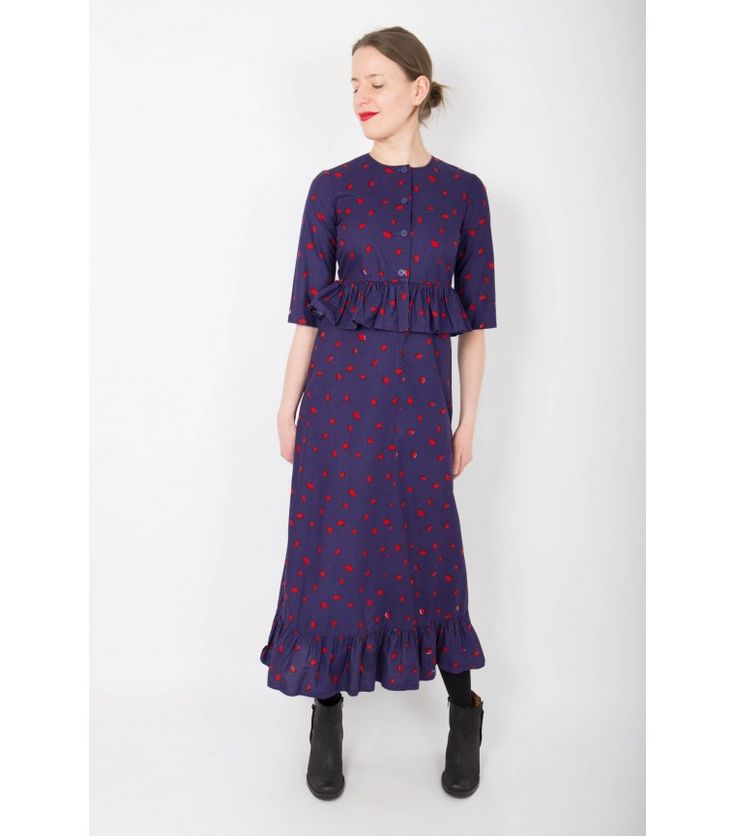 "Marimekko ""Love"" Vintage 1974 Dress, XS - WST"
