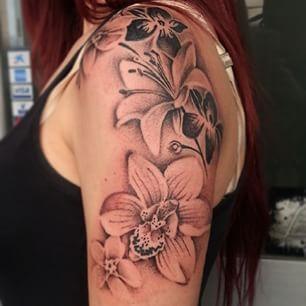 tattoos orquideas - Pesquisa do Google