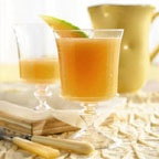 Cantaloupe Aqua Fresca - This delicious and nutritious, cantaloupe-infused water beverage makes a refreshing drink on a hot summer's day.
