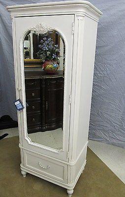 Charmant Universal Gabriella Storage Mirror Armoire Wardrobe White 136A014  Smartstuff | EBay..1099.