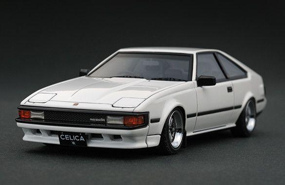 IG0329 1/43 Toyota Celica XX 2800GT (A60) White | LINE UP | ignition model - すべてはミニチュアカーコレクターのために。