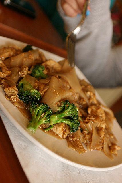 Tastes of Thailand: 8 Recipes for Enjoying Thai Food at Home - Pad See Ew/Pad Si U