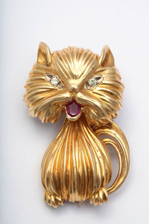 25 best Luxury Cat Gems images on Pinterest Cats 18k gold and