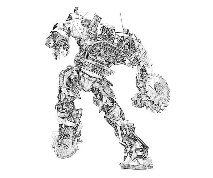 Transformers 3 Shockwave Coloring Pages