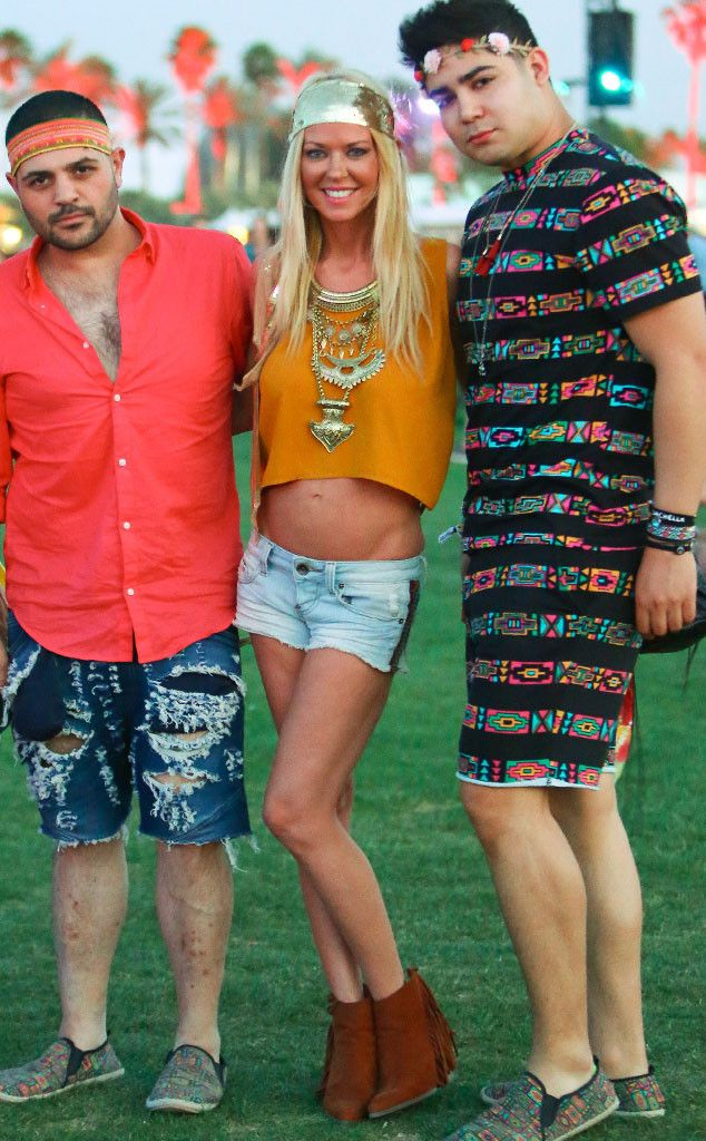 Tara Reid from Coachella 2016: Star Sightings
