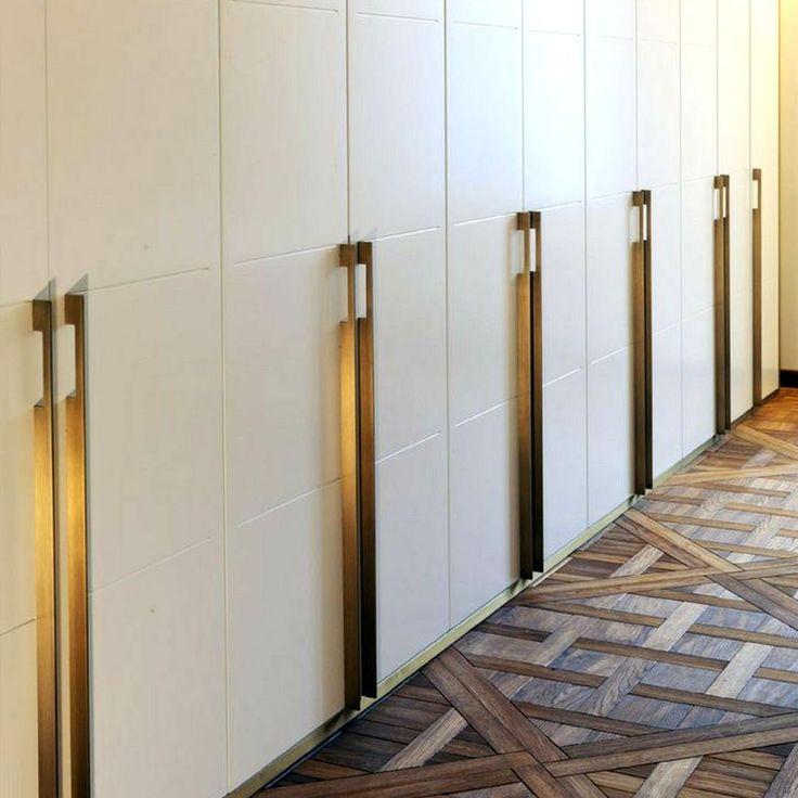 DESIGNER DOORWARE BLADE PULL #UNLACQUEREDBRASS #DOORHARDWARE #CABINETHARDWARE #LUXURYHARDWARE #CUSTOMHARDWARE #INTERIORDESIGN & 18 best Designer Doorware images on Pinterest | Beautiful interior ...