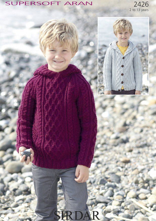 Aran Childrens Knitting Patterns : 1000+ ideas about Aran Knitting Patterns on Pinterest Aran Sweaters, Double...