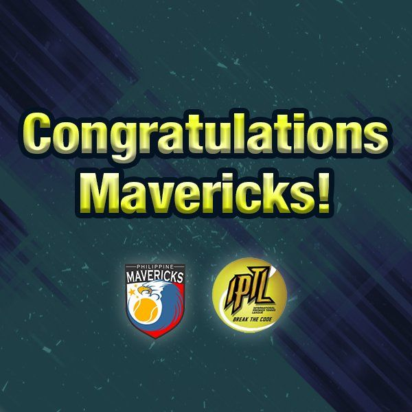 12/7/15 Via CebuanaSports  ·   The Philippine #Mavericks continues to dominate #IPTL2 as they grab another win over the Japan Warriors today!