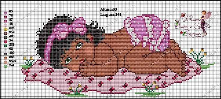 Viviane Pontos e Art's: Gráficos bebes moreninhos