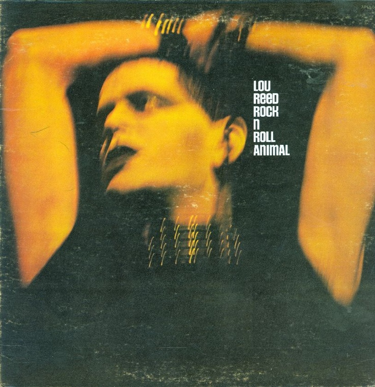 "Album Cover: Lou Reed ""Rock N Roll Animal"" GREAT live album' Check out the double guitar intro to :Sweet Jane:."