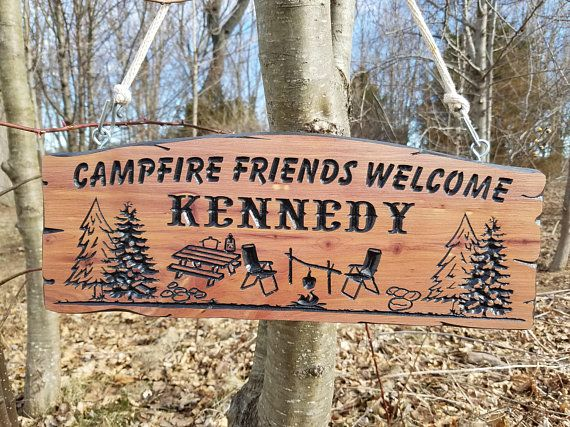 Camping Sign Rv Sign Camping Signs Campsite Sign Custom Rv Sign