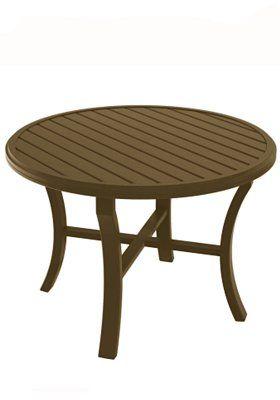 "Banchetto Round 42"" Dining Table | Tropitone"