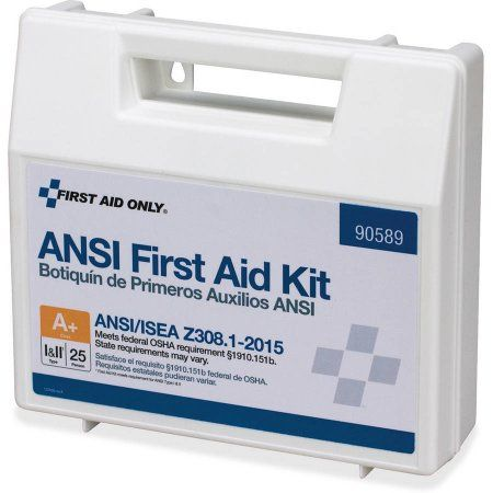 First Aid Only 141-piece Ansi First Aid Kit, Multicolor
