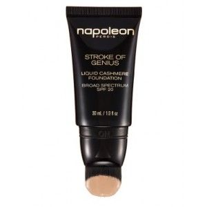 Napoleon Perdis Stroke of Genius Liquid Cashmere Foundation SPF20 Look 3