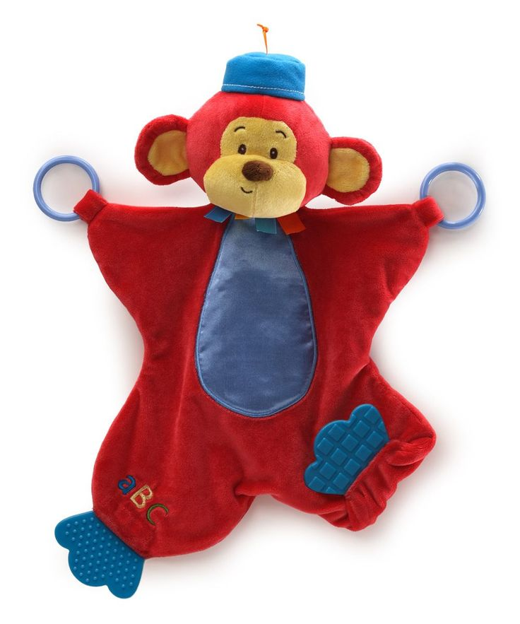 Monkers Monkey Color Fun Circus Activity Blanket