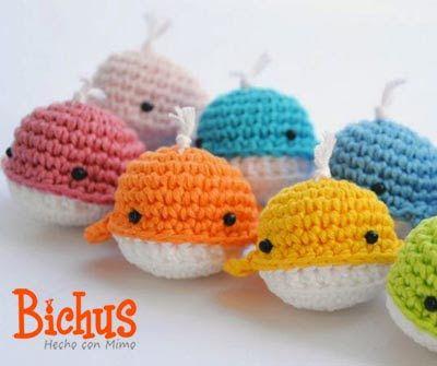 Mini Amigurumi Whale : Las 25+ mejores ideas sobre Feria de artesan?as de croche ...