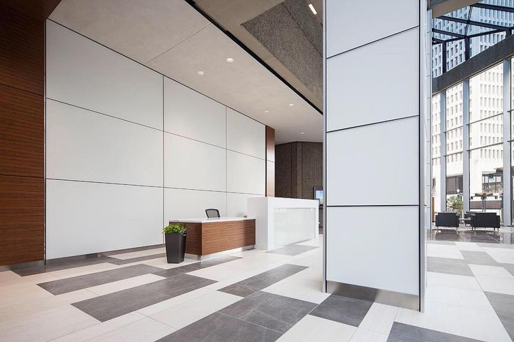 Make a statement or complement other architectural features with our coordinating LEVELe Wall Cladding & Column Systems. . . .  #architectural #columns #wallcladding #archiproducts #archilovers #interiordesign #interiorstyle #lobbydesign #hospitalitydesign #officedesign