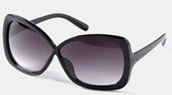 Les lunettes de soleil surdimensionnées