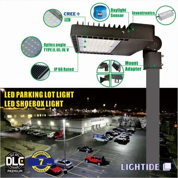 Led Shoe Box Lights Provide Excellent 320w Cree Led With Up To 150 Lm W It Is Equivalent To 1000w Metal Halid Shoe Shoe Box Led Parking Lot Lights Cree Led