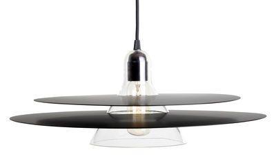 Cymbal / mundgeblasenes Glas & Metall - Ø 47 cm | La Chance | Pendelleuchte