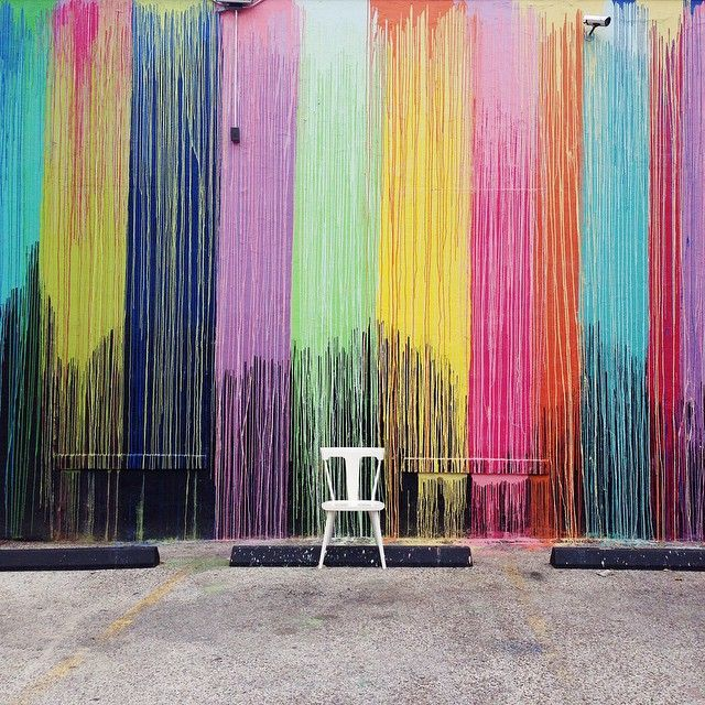 Find It Houston: The #BiscuitPaintWall At Biscuit Home Off Westheimer St