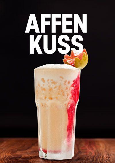 Affengeile Cocktail Rezepte mit Affengeil Rum-Likör aus München. Affengeil: ein sinnlicher Dschungel voller Farben, Aromen, Düfte, Lachen und Musik!