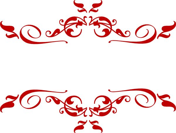 clipart swirl | Swirl Red clip art - vector clip art ...