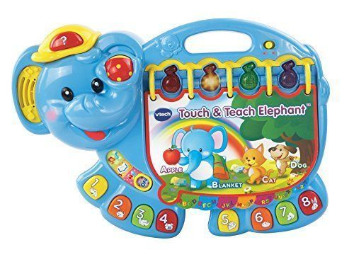 Educational Toys Book For 1 Year Old 2 3 Learning Alphabet Touch Teach Baby Kids #EducationalToysBook