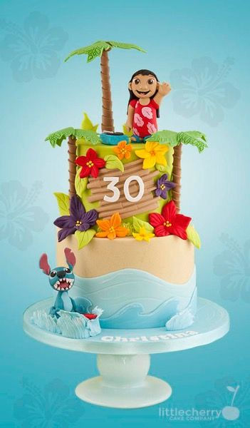 52 Best Images About Disney S Lilo And Stitch Cakes On