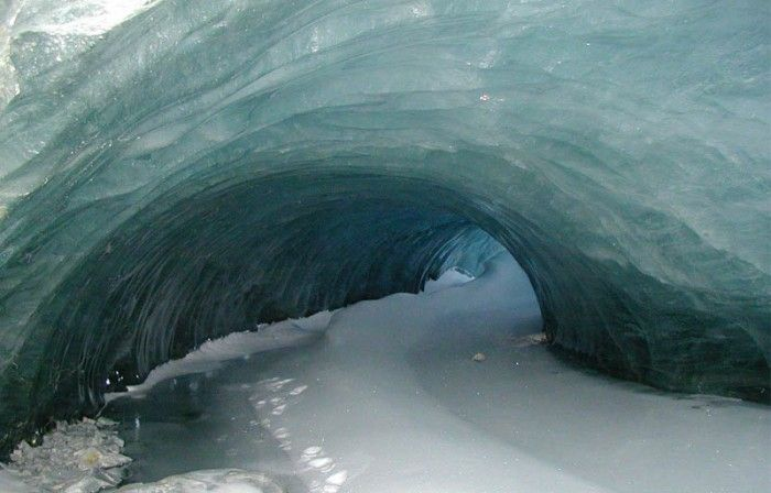 Ice cave, Palmer Station, Anvers Island, Antarctica by Zee Evans   (Unruly Blog Via The Big Picture)