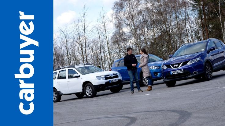Best 4x4s and SUVs - Nissan Qashqai vs Dacia Duster vs Mazda CX-5 - Carb...