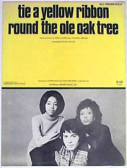 "Tony Orlando & Dawn ""Tie a Yellow Ribbon Round the Ole Oak Tree"" (1973)"