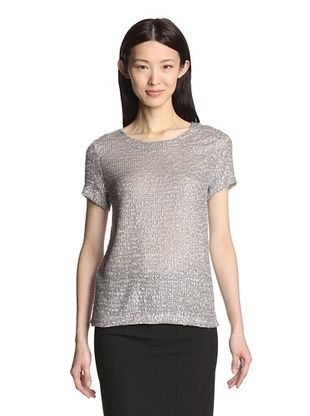70% OFF Gerard Darel Women's Sequined Top (Grey)
