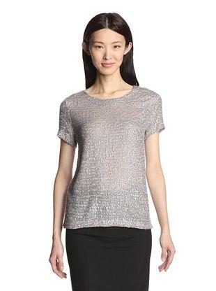 70% OFF Gerard Darel Women's Sequined Top (Grey)