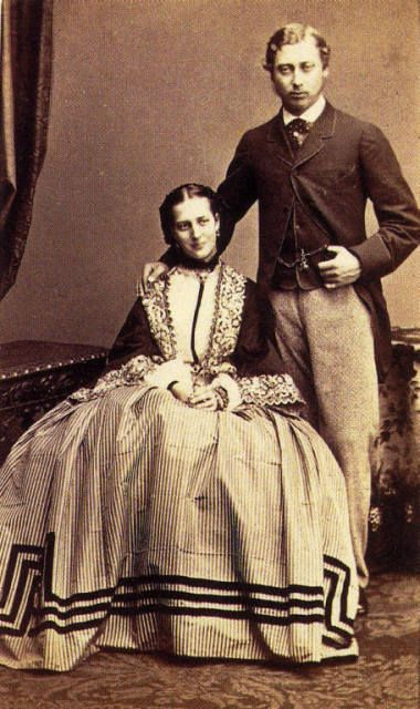 c1862.  Princess Alexander of Denmark married Edward Vll, England