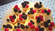Košíčky s ovocem a citronovým krémem  Foto: