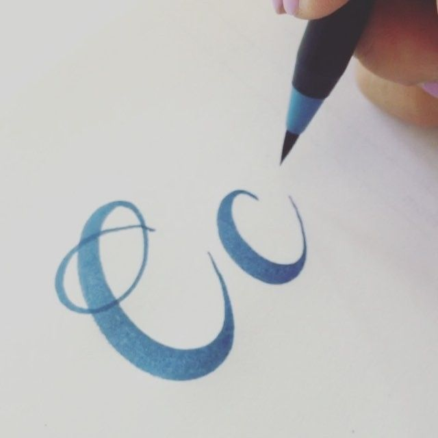 83 Best Calligraphy The Letter C Images On Pinterest