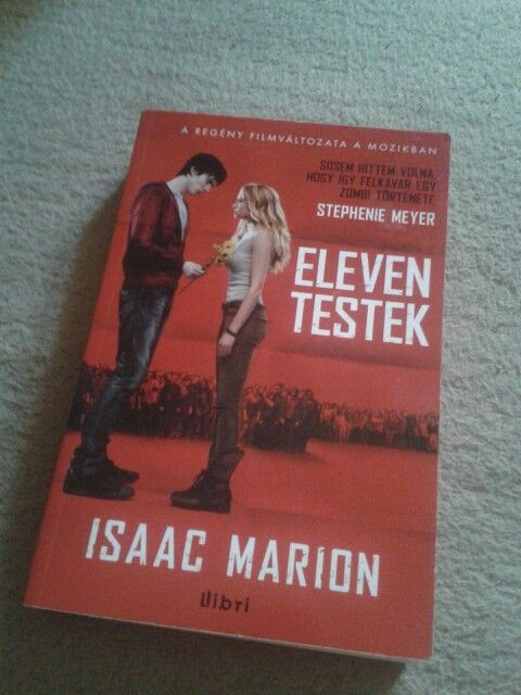 Warm Bodies by Isaac Marion. This book is a masterpiece.