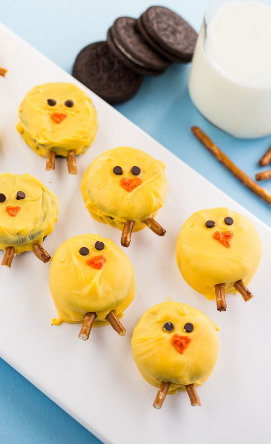 Easter Oreo Chicks - fun to make and eat!